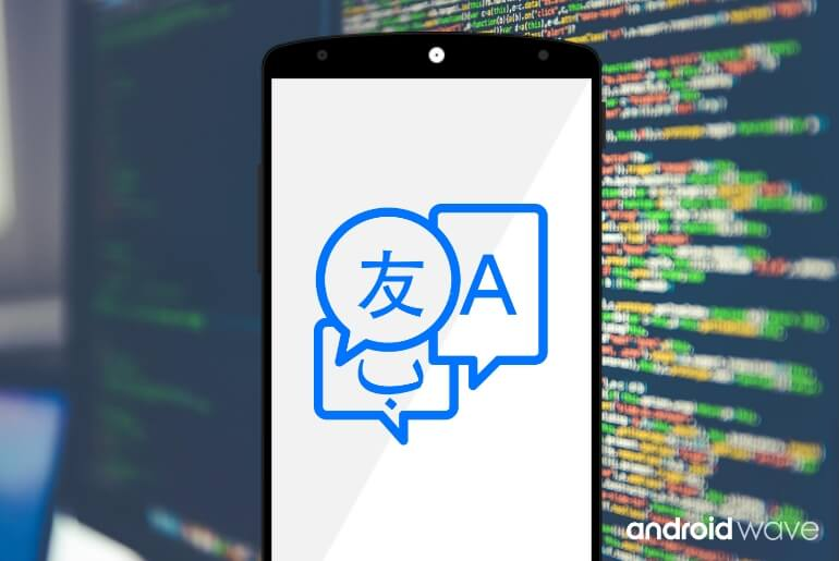 android multi language app example