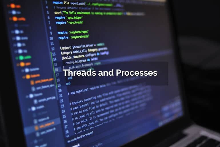 what is thread, what is process