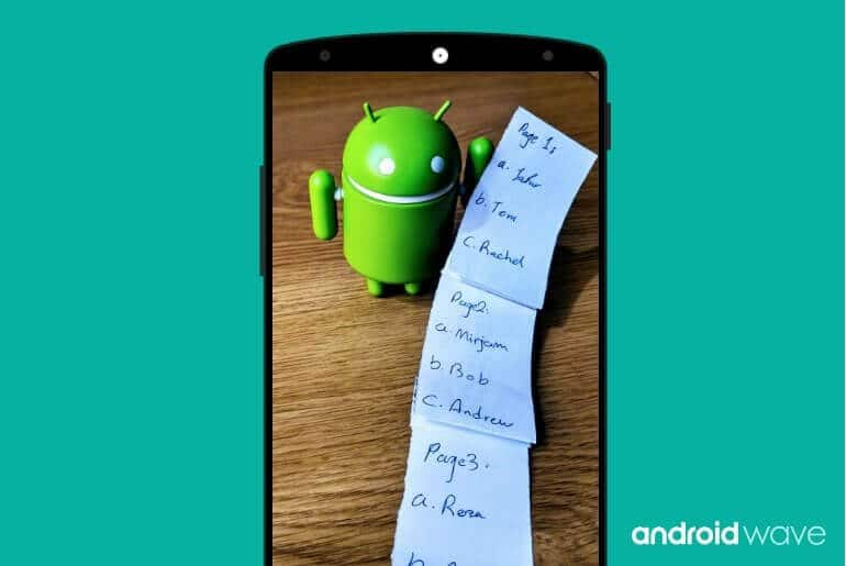 paging library for android