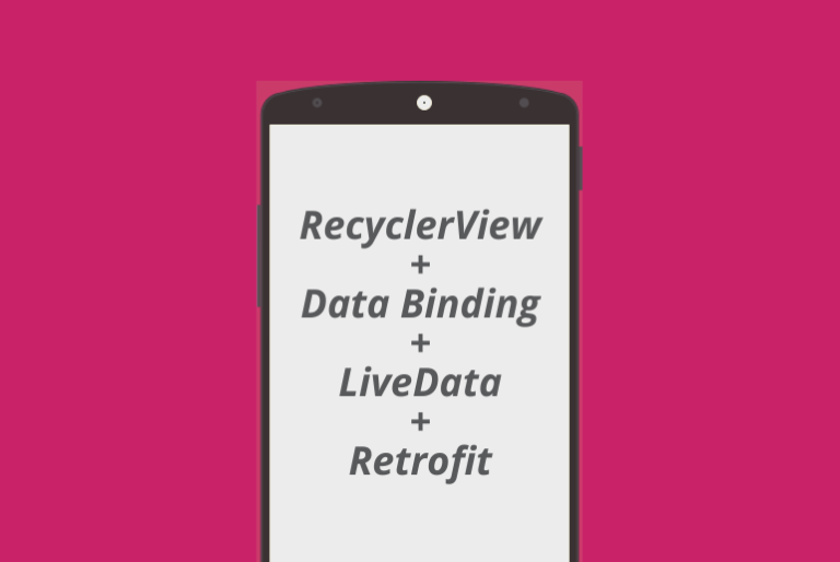 android data binding recyclerview android