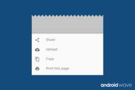 Modal Bottom Sheets Example