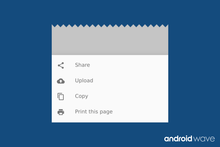 Bottom Sheet Dialog Fragment in Android - AndroidWave