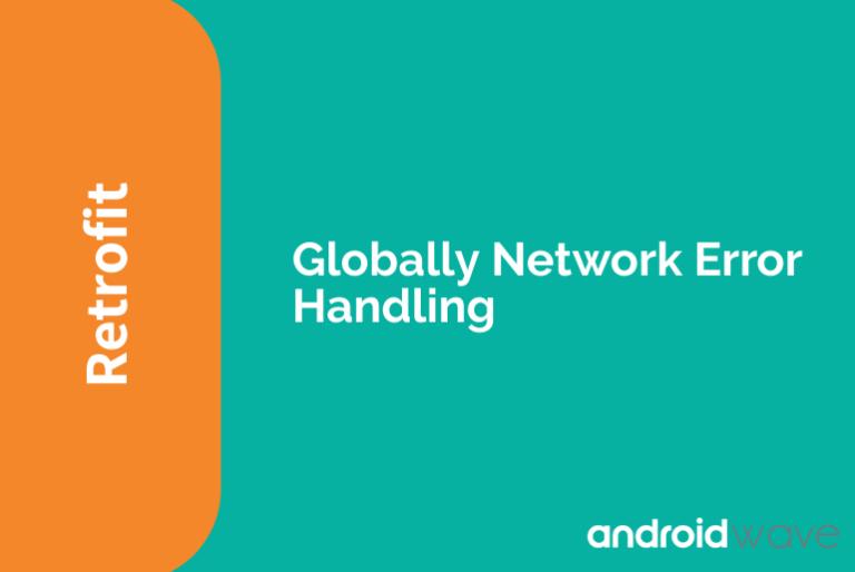 network error handling retrofit