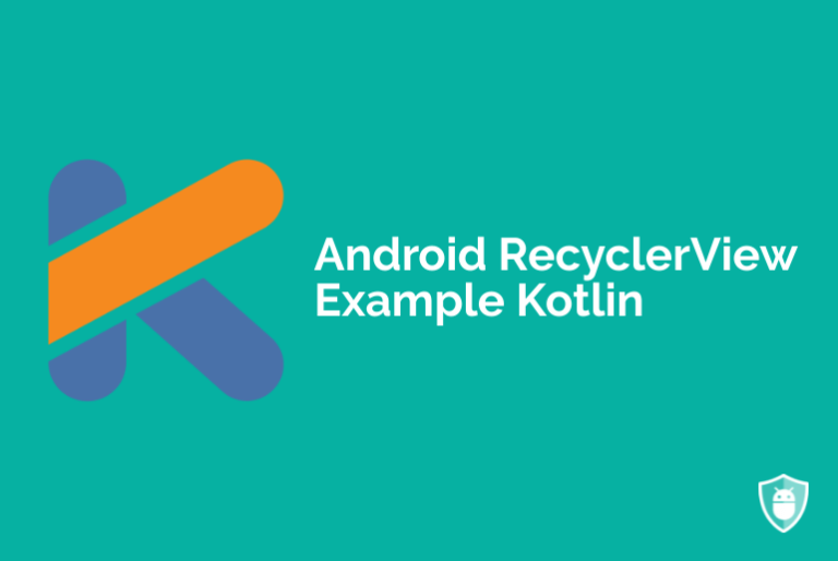 RecyclerView Kotlin example