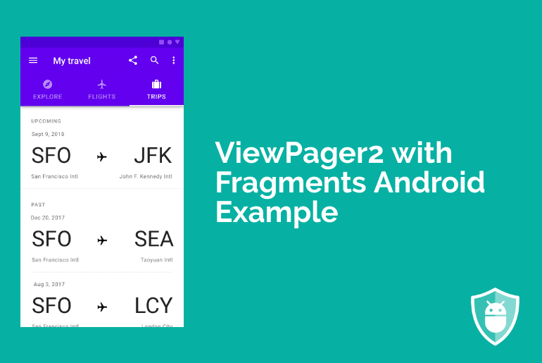 viewpager2 with fragments android