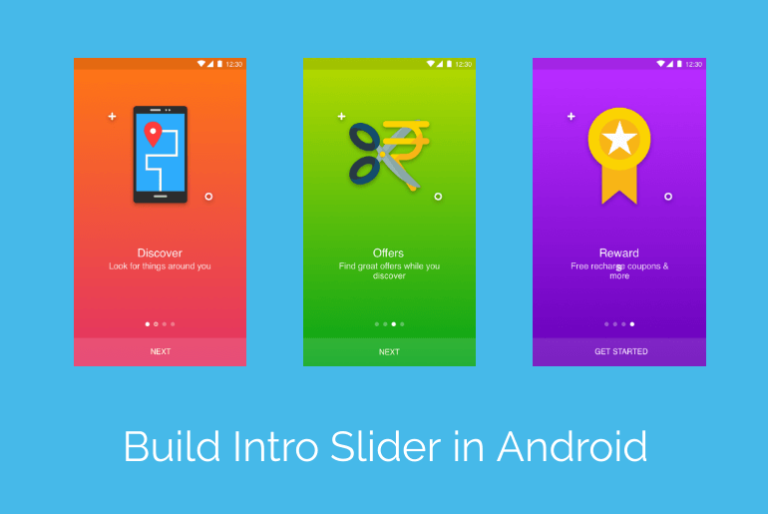 Build Intro Slider in Android