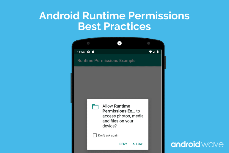 android marshmallow runtime permissions