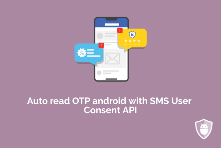 auto read sms otp android