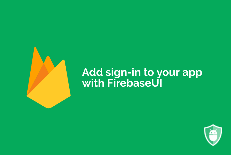 firebaseui for authentication with email