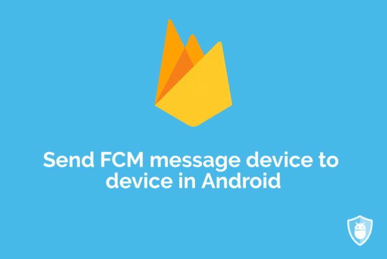 android firebase push notifications device to device