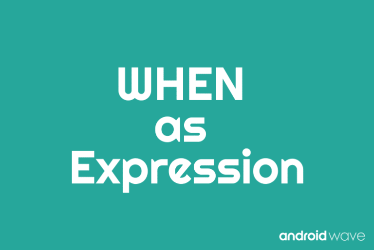 when expression in kotlin